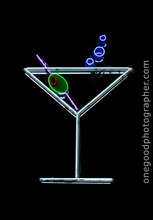 A Neon Cocktail