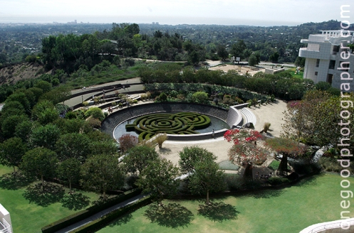 The Getty Gardens
