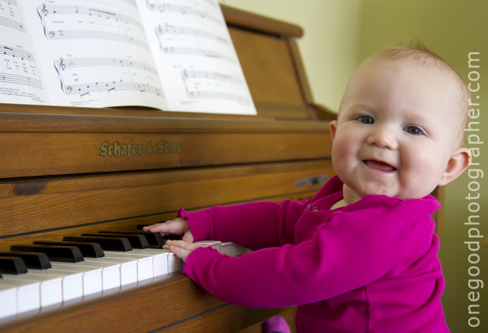 our young piano protege